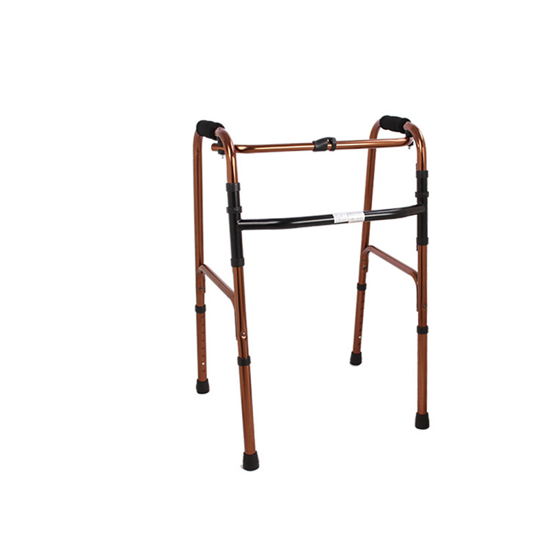 AUFU助行器FS919L老人残疾人可折叠铝合金助行器助行架