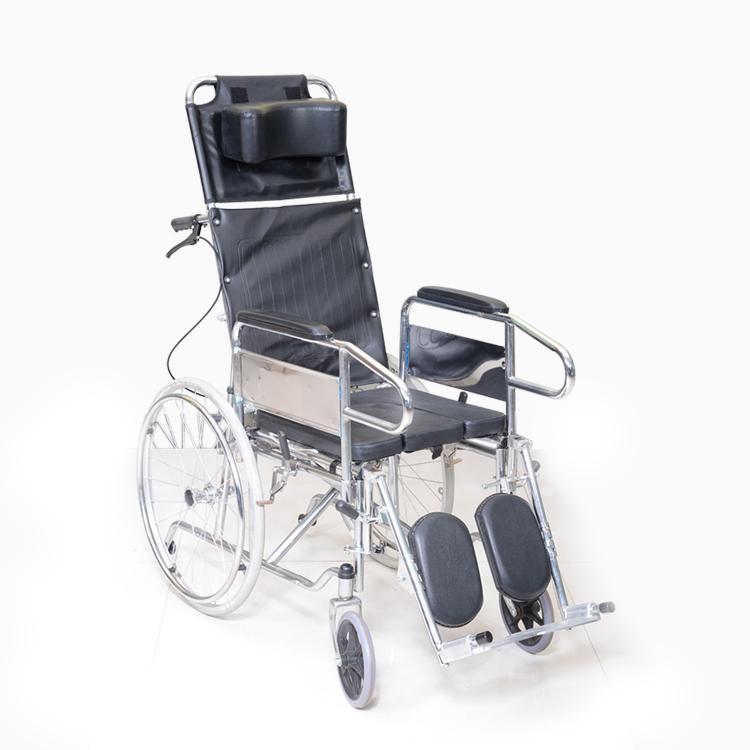 康神可调试钢轮椅KS-d19a