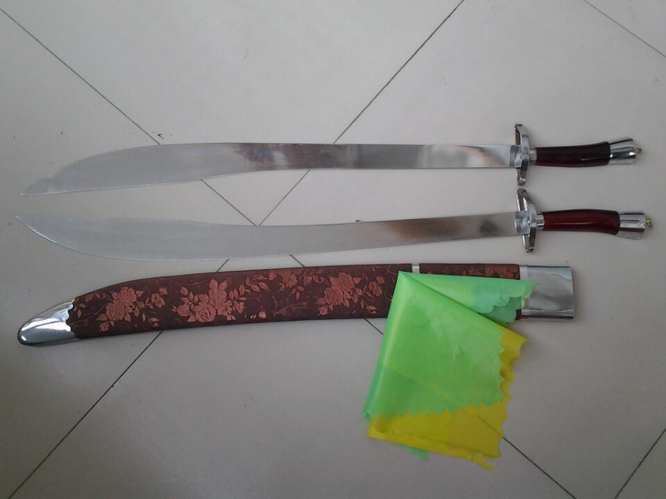 太极武术双刀
