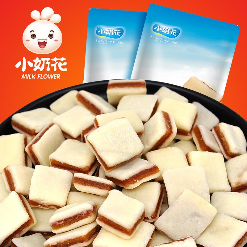 小奶花 山楂夹心果味零食奶酪 内蒙特产