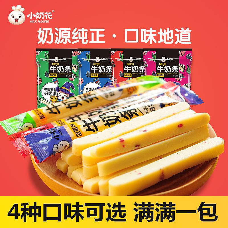小奶花 内蒙古奶酪酸奶条 奶棒 牛奶条奶酪条 儿童零食500g