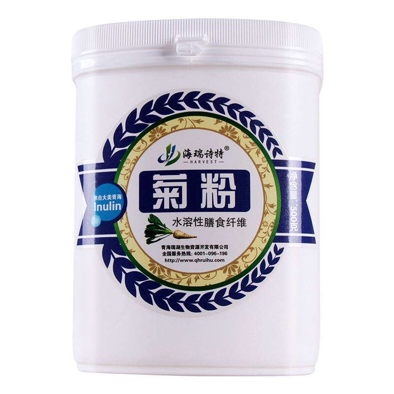 青海瑞湖-菊粉500克(罐装)包邮