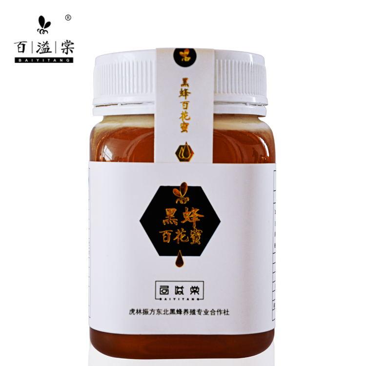 百溢棠 - 黑蜂百花蜜  椴树蜜  蜜源来自完达山脉和乌苏里江深山老林