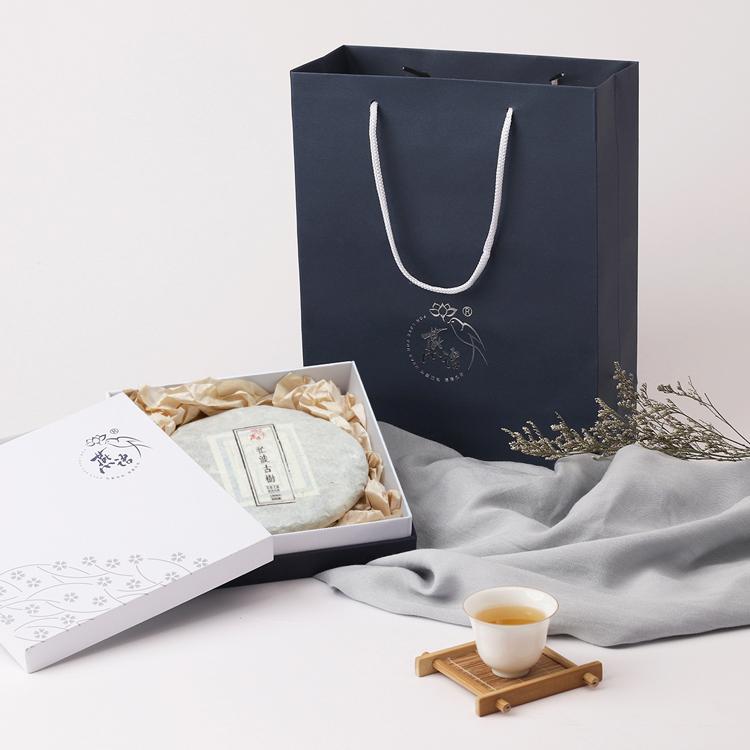 2018古树纯料茶系列 忙波古树春茶片装筒装
