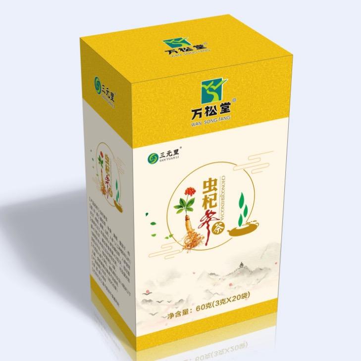 万松堂 - 虫杞参茶 人参五宝茶 玛咖补肾袋泡茶