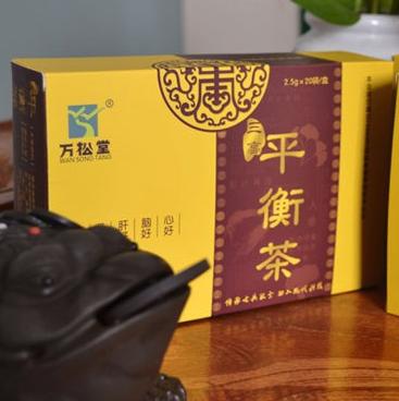 万松堂 - 三高平衡茶  高血糖高血压者养生袋泡茶  三高养生茶