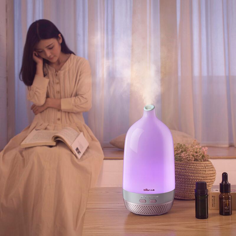 小熊 - 空气加湿器 迷你家用卧室办公室香薰机 JSQ-D02E1