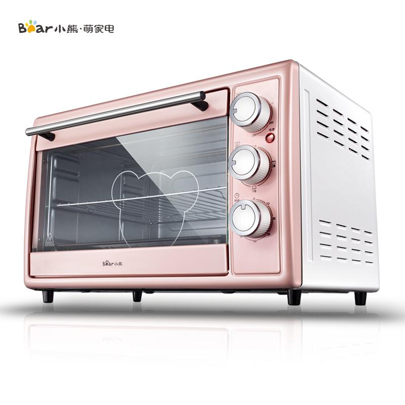 小熊 - 电烤箱多功能家用大容量三层烤位烘焙蛋糕烤炉DKX-B30N1