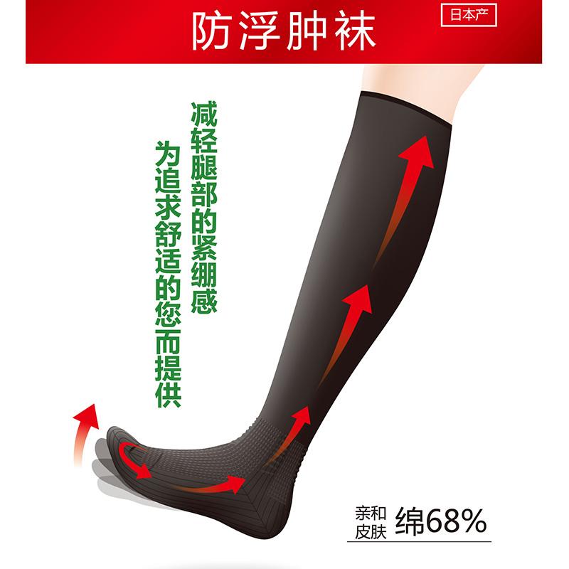 帝人 - 预防腿部浮肿长袜(日本产)5色6码可选