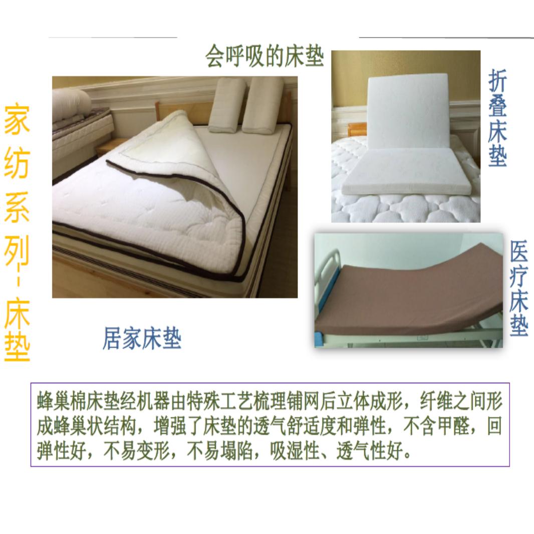 帝人 - 环保轻量床垫   会呼吸的床垫   仿生蜂巢结构床垫