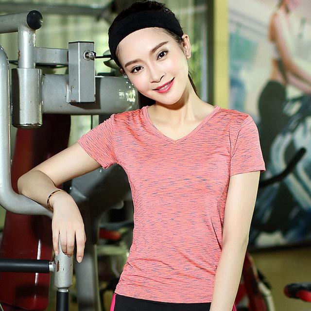春夏新款运动服 瑜伽服 健身房 女款速干休闲运动套装女