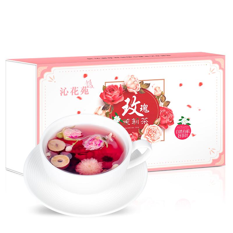 沁花苑 - 玫瑰茉莉茶   元气好食材调出由内而外的健康美丽