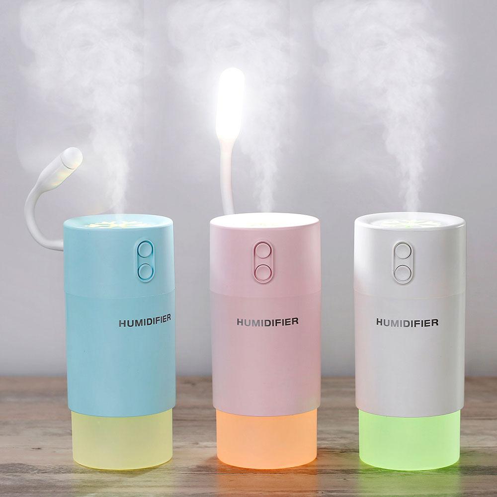 雪花加湿器   usb迷你加湿、风扇、炫影、夜灯四种功能,微米细雾时刻滋润