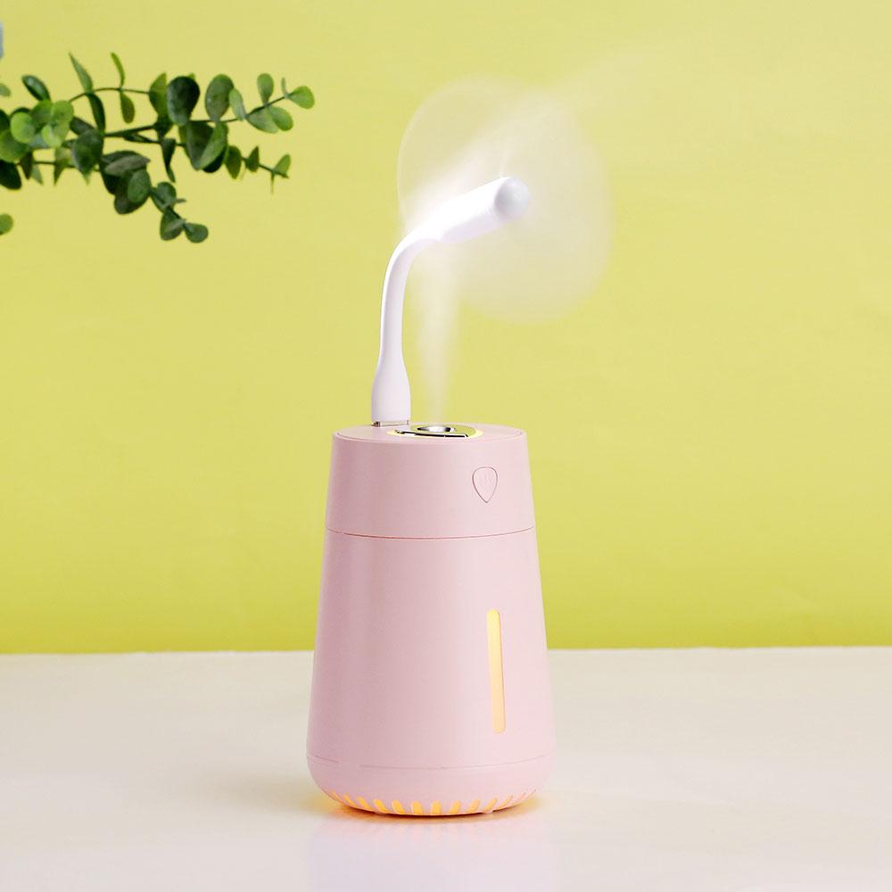 水滴加湿器 - 加湿、风扇、照明三合一功能,独立香薰设计