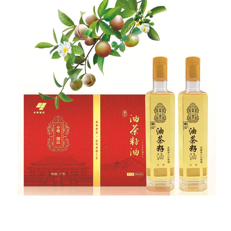 卓粤御品 - 家庭食用有机山茶籽油   10道工序冷榨冷提   60℃以下低温压榨提取