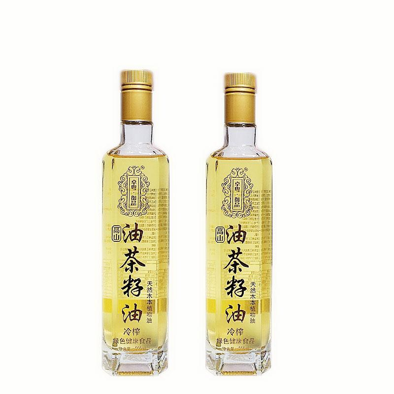 卓粤御品 - 月子油山茶籽油礼盒装   10道工序冷榨冷提   60℃以下低温压榨提取