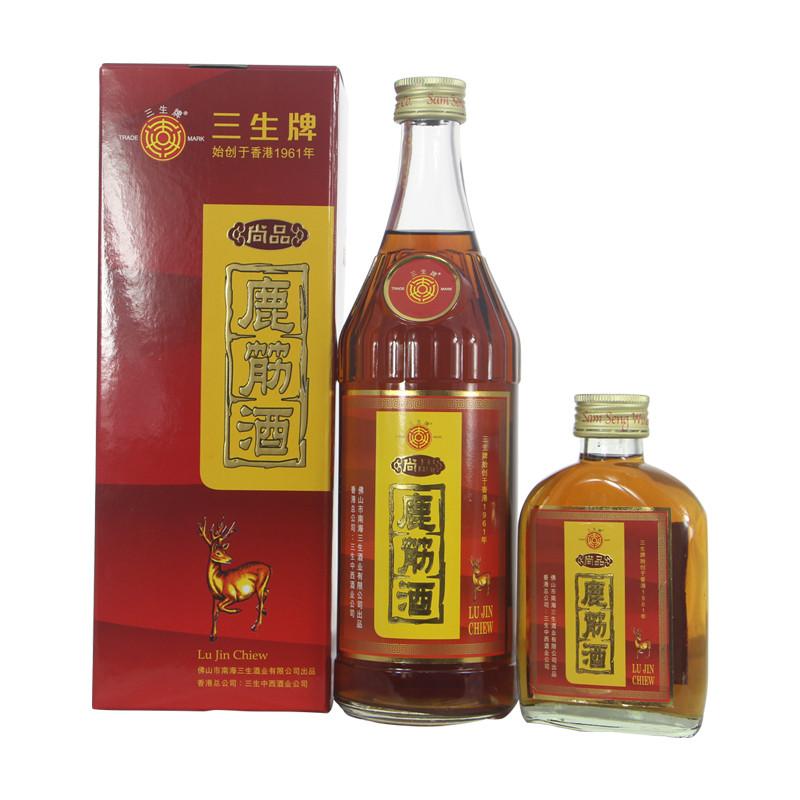 三生 - 鹿筋酒   上等鹿筋和白酒浸泡   香港高端品牌鹿酒系列