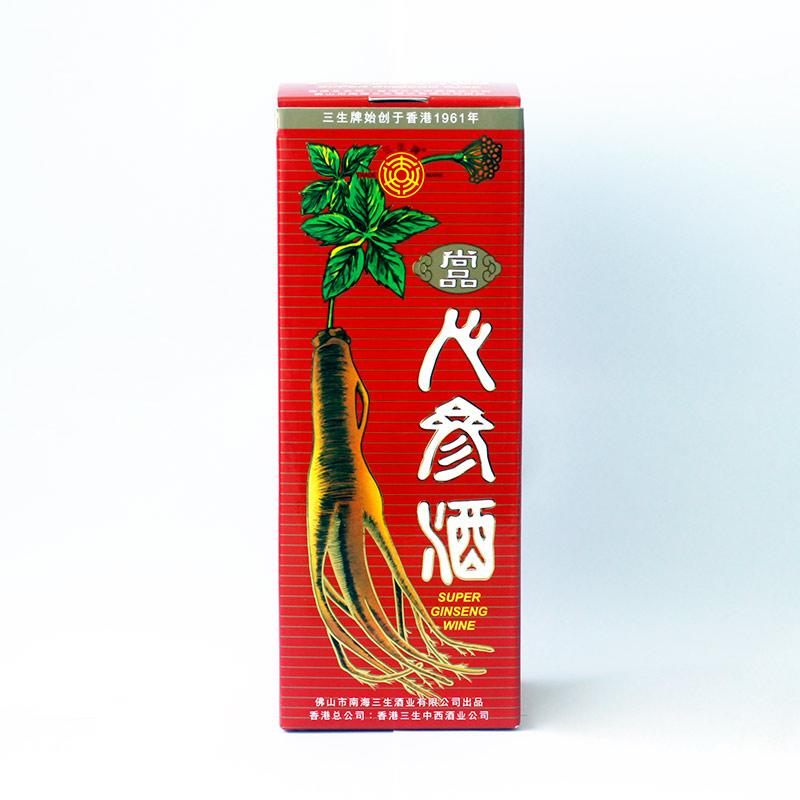 三生 - 人参酒   香港高端品牌鹿茸人参酒系列    人参   黄精   枸杞子