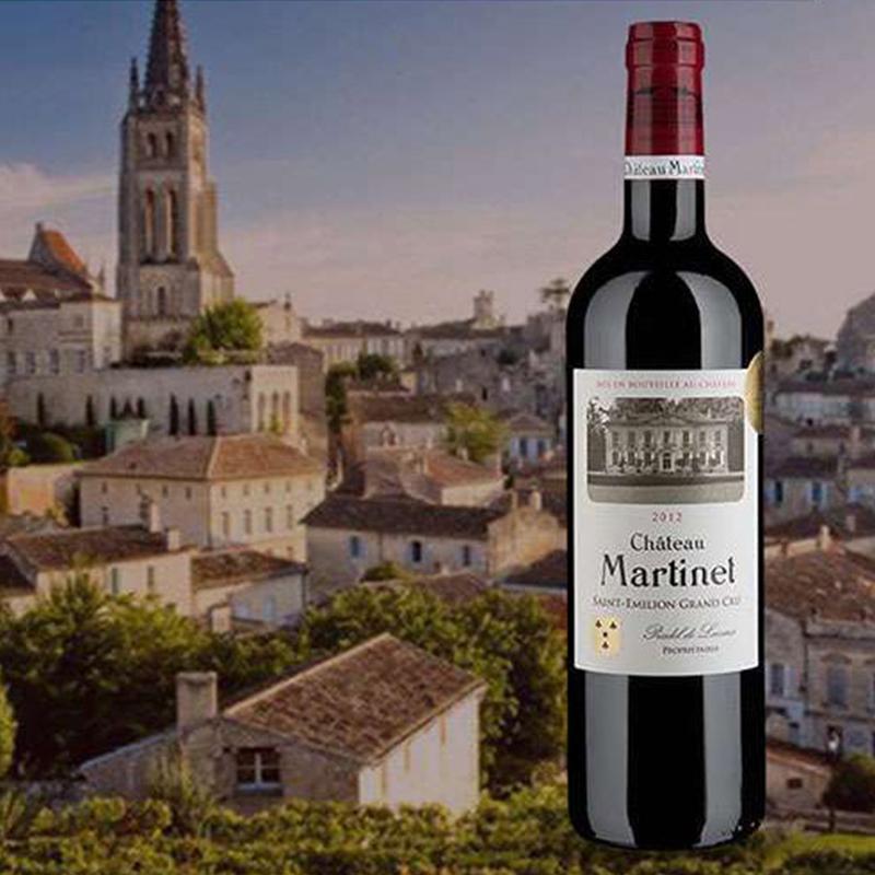 雅亨堡 - 法国玛帝列古堡干红葡萄酒CHATEAU MARTINET - 获布鲁塞尔国际葡萄酒大赛金奖