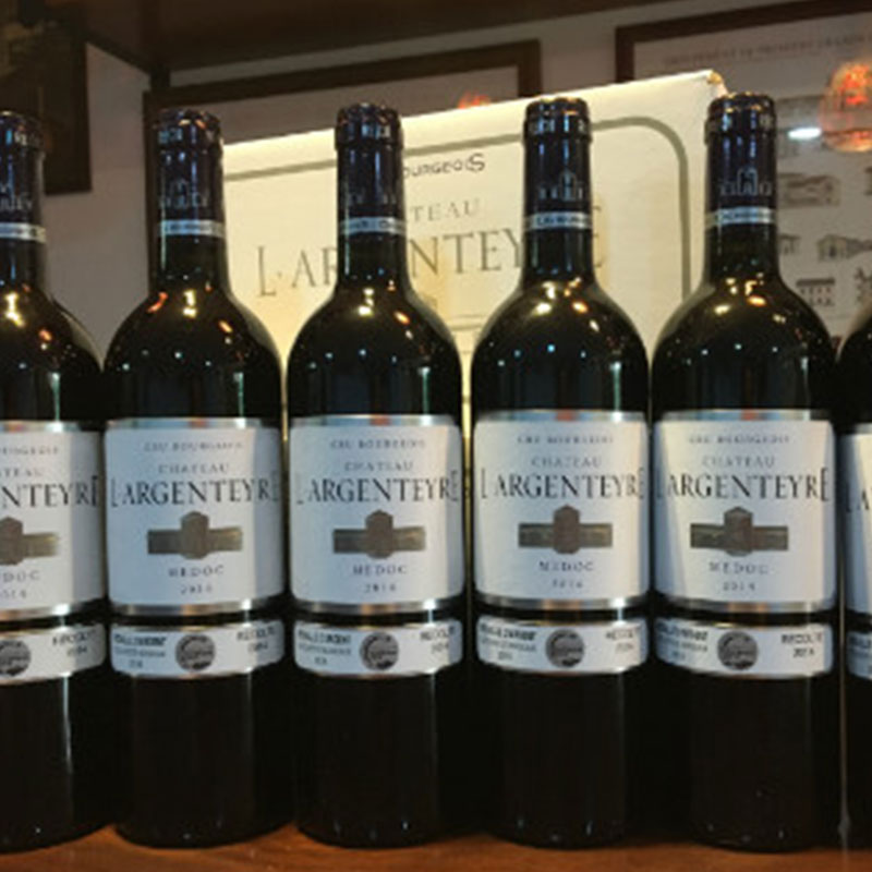 雅亨堡 - 法国银帝古堡干红葡萄酒 ChâteauL'Argenteyre-明星中级酒庄-获2016年波尔