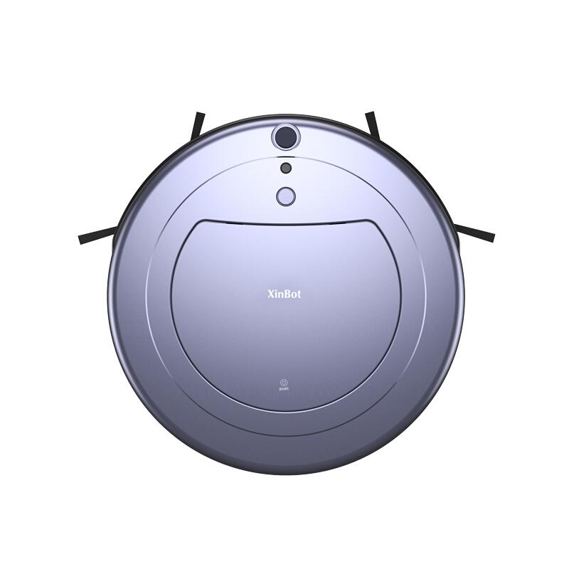 玄馨(XinBot)扫地机器人家用吸尘器超薄智能全自动洗擦地机拖地一体机 黑色