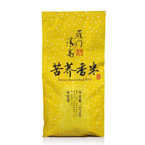 雁门清高 - 苦荞香米  富含黄酮 675g大锡纸精品包装