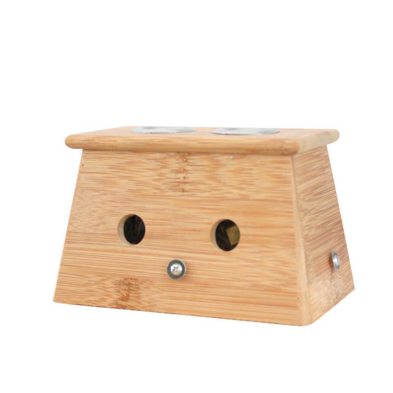 李时珍国灸 - 竹制艾灸盒  单双三四六联艾灸盒