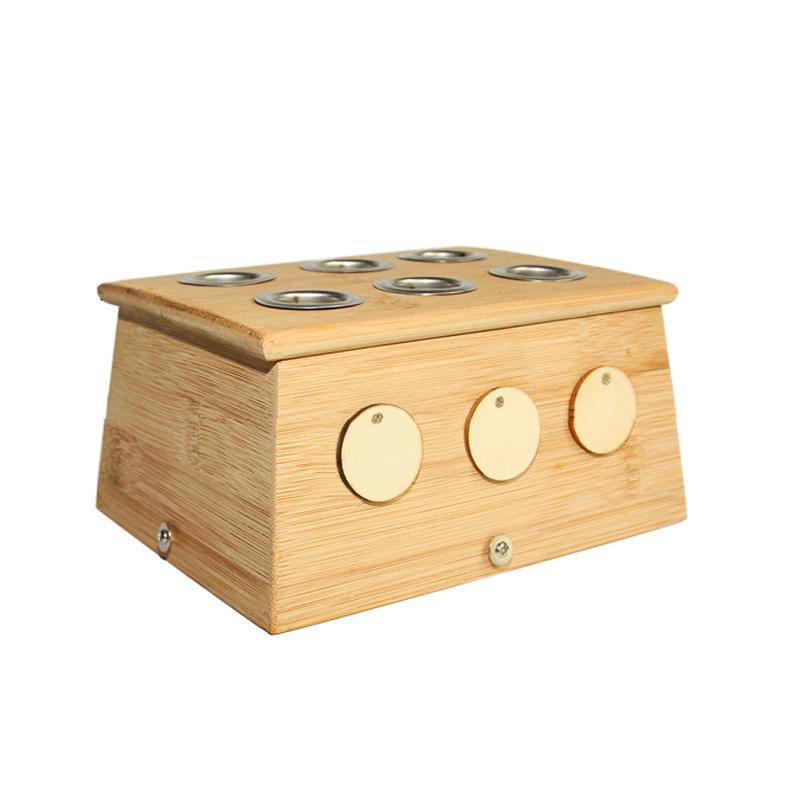 雷火灸艾灸盒   大孔径   专用3.0和4.0的艾条   火力更猛更纯